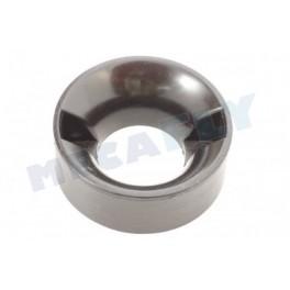 Bague de carburateur nylon noire - Ø 5 mm