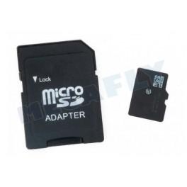 Carte micro SD 8 Go + adaptateur