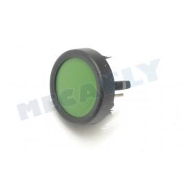 Interrupteur Ø 18 vert